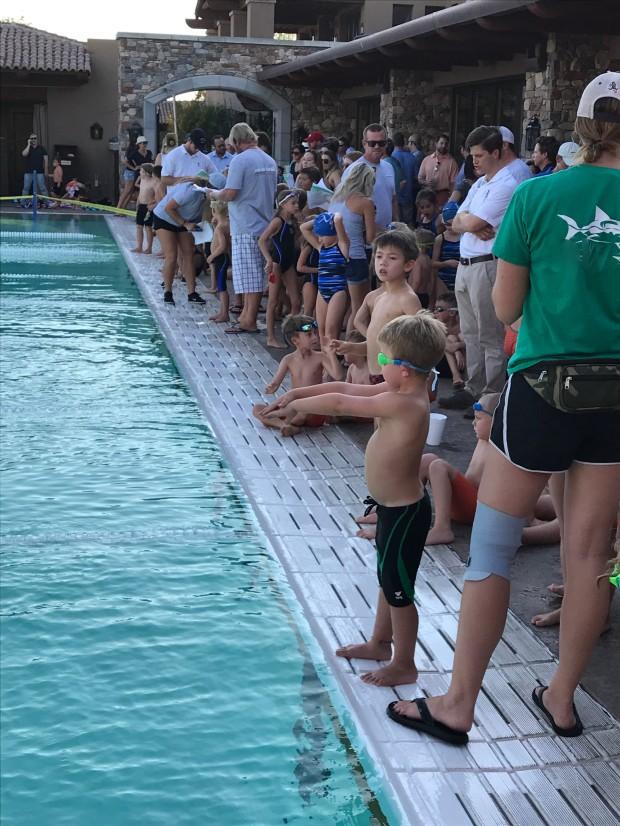 auggie swim